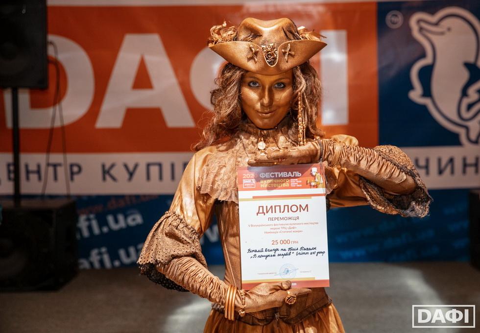 Переможці, 1 місце_Кривий Ріг Призеры на V Всеукраинском фестивале уличного искусства