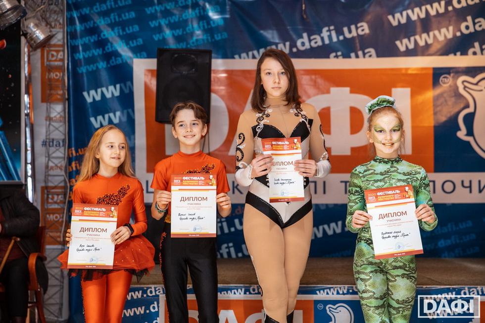 Переможці_2 та 3 місце Призеры на V Всеукраинском фестивале уличного искусства