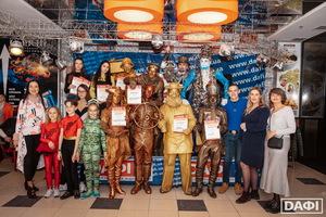 Призери на V Всеукраинском фестивале уличного искусства