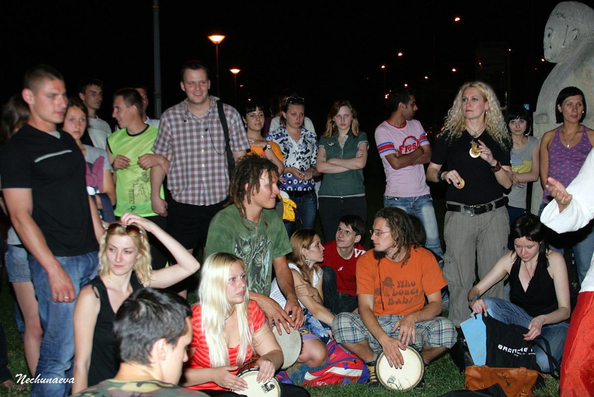 Барабанная вечеринка от Движения ЭТНОДРАЙВ