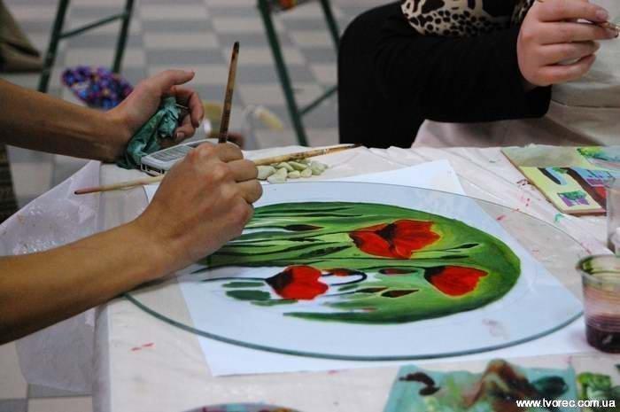 Мастер класс по росписи