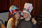Шляпа пати в пабе Chicago