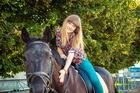 Конные прогулки с КАVA (31.08.14)